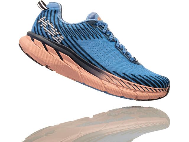 004f1ca022a9e8 Hoka One One Clifton 5 - Chaussures running Femme - bleu - Boutique ...